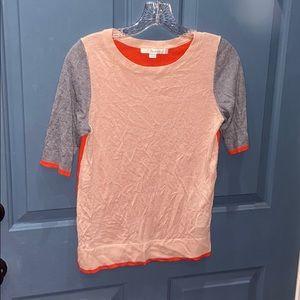Boden Colorblock Sweater Shirt